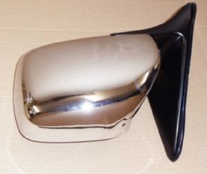 Toyota Land Cruiser Amazon 4.2TD HDJ100 - Door Mirror Chrome Manual L/H (1998-08/2007)